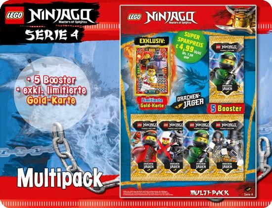LEGO Ninjago Trading Card Game 4 (Multi-Pack) DE