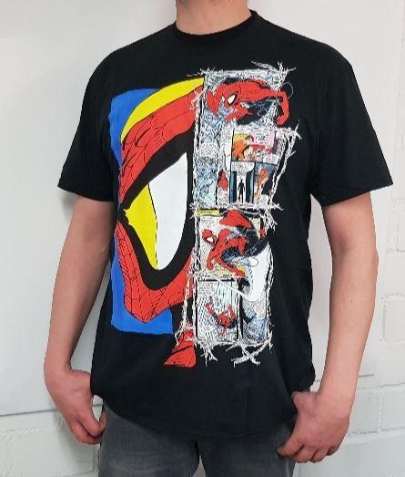 Marvel Spider-Man Comic T-Shirt MEN (XL)