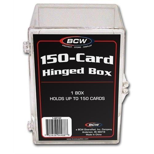 BCW Plastikkasten für 150 Karten