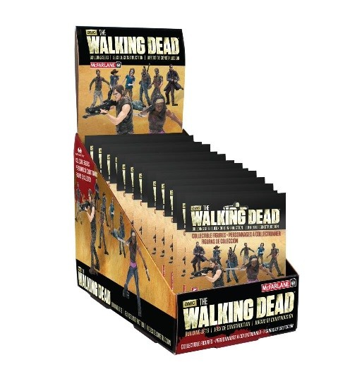 The Walking Dead Building Set-Blind Bag S.1(24 ct.