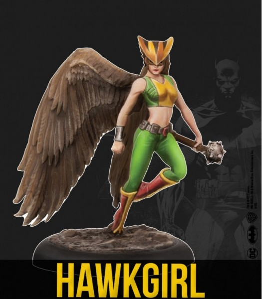 Batman Miniature Game - Hawkgirl