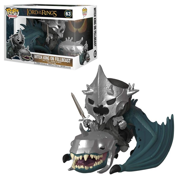 POP RIDES - Herr der Ringe/Witch King on Fellbeast