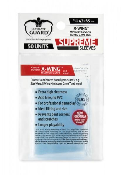 UG Supreme Sleeves for X-Wing Mini-Game 50 ct.