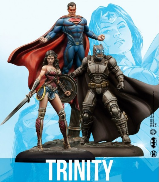 Batman Miniature Game - Batman vs Superman Trinity