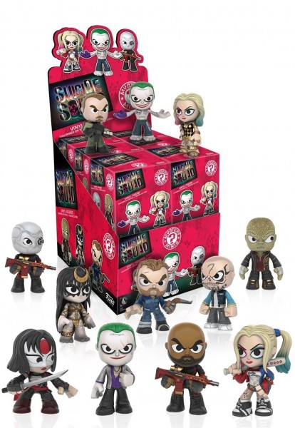 Mystery Minis - Suicide Squad Vinyl Fig. (12 ct.)