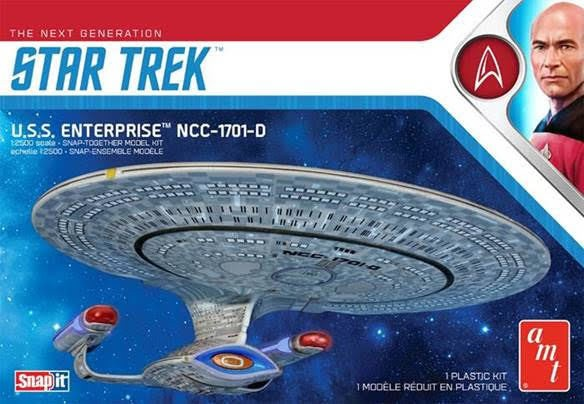 Star Trek TNG U.S.S. Enterprise NCC-1701-D