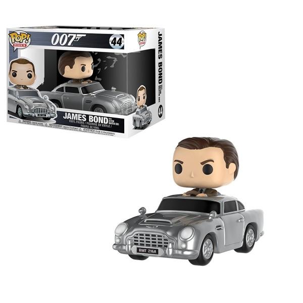 POP RIDES - 007 James Bond with Aston Martin DB5