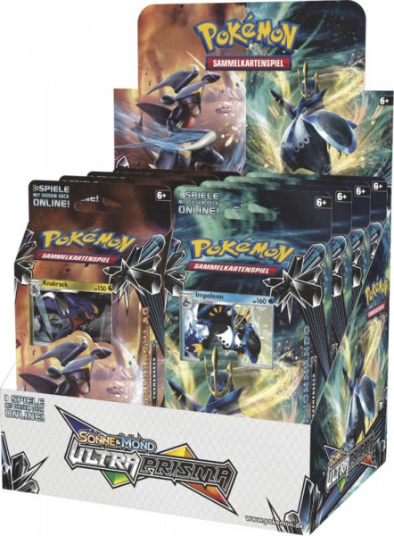 Pokémon Cards SM05 Ultra Prisma (Themendeck) DE