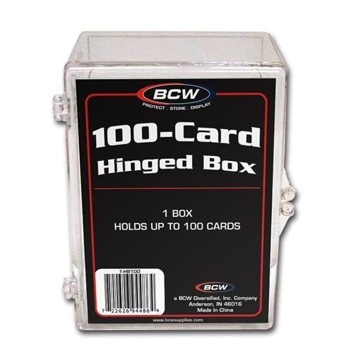 BCW Plastikkasten für 100 Karten