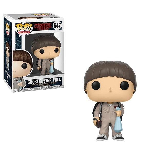 POP - Stranger Things - Ghostbuster Will