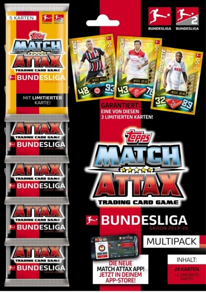 2019-20 Match Attax Multipack