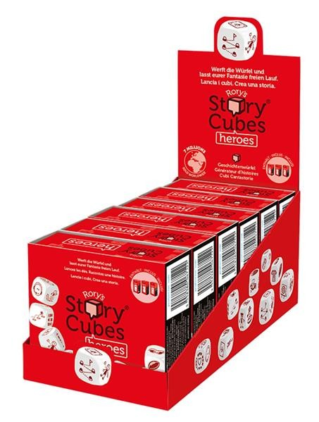 Rory's Story Cubes Heroes (6 ct.) DE/FR/IT