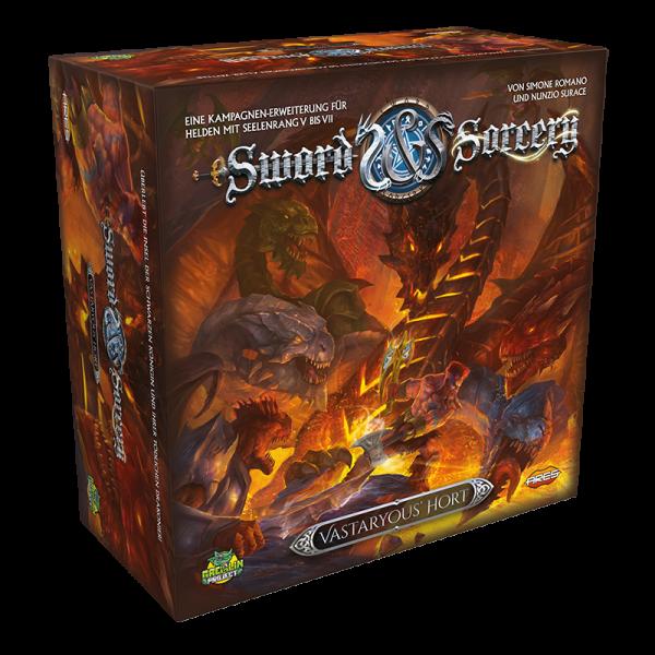 Sword & Sorcery -Vastaryous' Hort Erweiterung DE