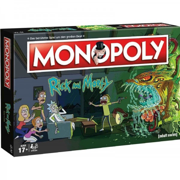 Monopoly - Rick & Morty DE