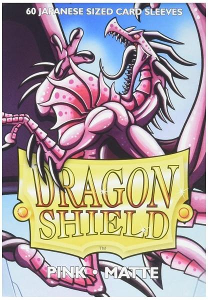 Dragon Shield Japanese Sleeves Matte Pink (60ct)