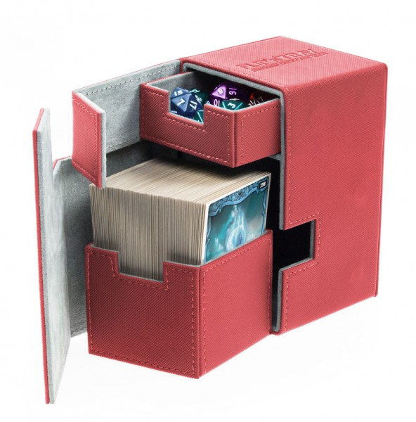 UG Flip`n`Tray Deck Case 100+ XenoSkin Red