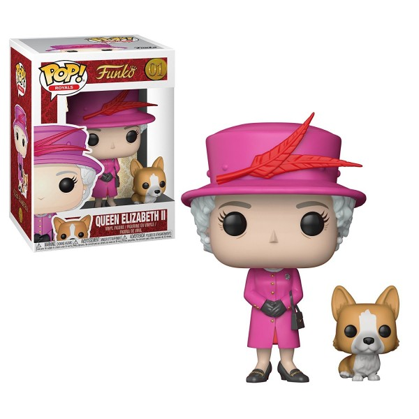 POP - Royals - Queen Elizabeth II (Pink Dress)