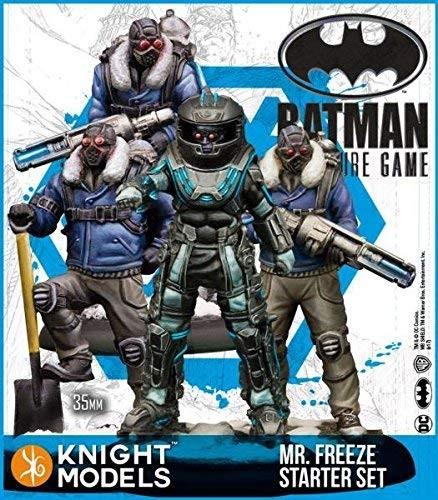 Batman Miniature Starter Set - Mr. Freeze