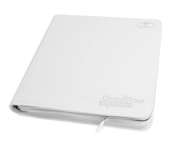 UG 12-Pocket QuadRow ZipFolio XenoSkin White