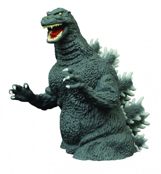 Godzilla Classic 1989 Vinyl Bust Bank/Spardose