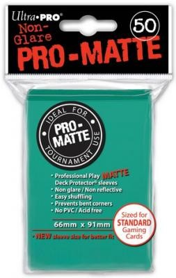 UP Pro-Matte Sleeves aqua/türkis (50 ct.)