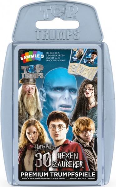 Top Trumps - Harry Potter 30 Hexen und Zauberer