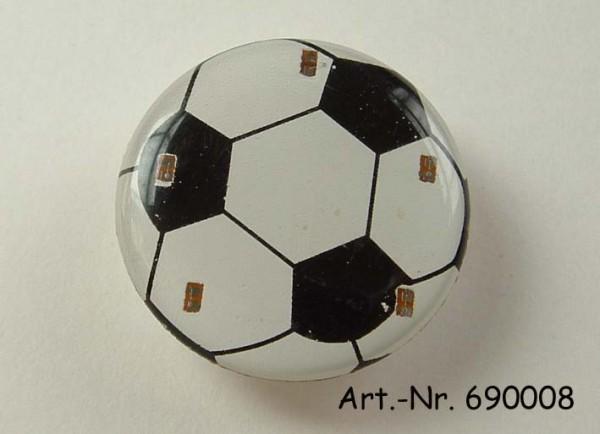 Pin Fußball mit Blinklicht