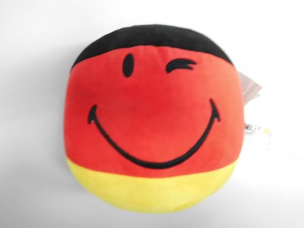 Smiley World - Plüschball Flagge Deutschland 22 cm