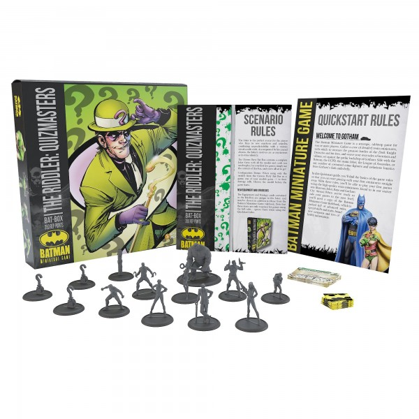 Batman Miniature Game Bat-Box Riddler: Quizmasters