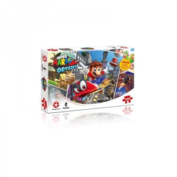 Super Mario Odyssey World Traveler Puzzle/500