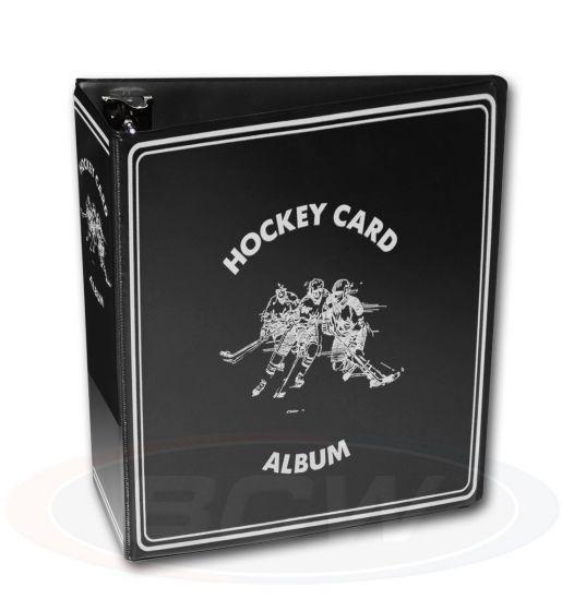 """BCW Hockey Collectors Album black 3"""""""