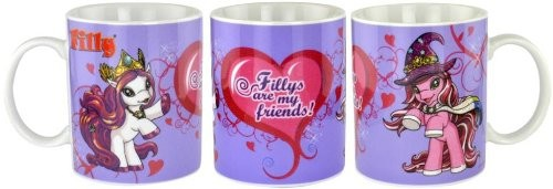 "Filly - Tasse/Mug ""Fillys are my friends!"""