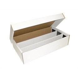 BCW Pappkarton für 3000 Karten (SuperShoe Box)10ct