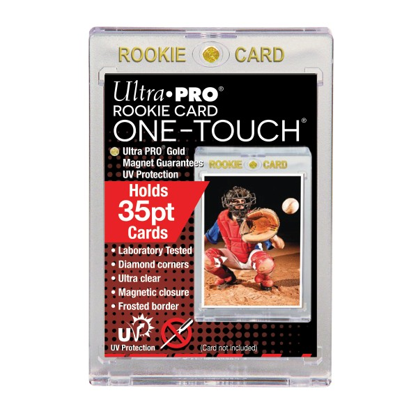 UP One-Touch Card Holder Rookie Card (35 pt)