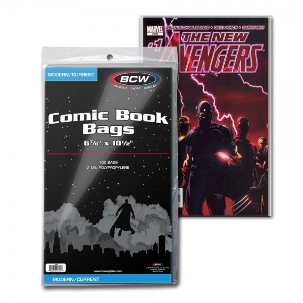 BCW Comic Book Bags Current (100 ct.)