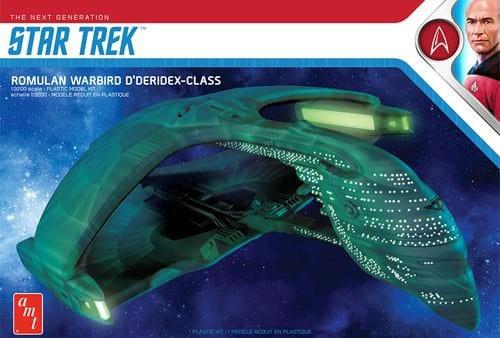Star Trek TNG Romulan Warbird D'Deridex-Class