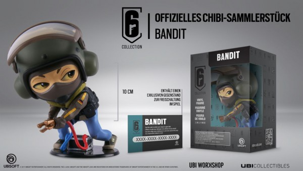 Six Collection 3 - Bandit 10 cm Vinyl Figure