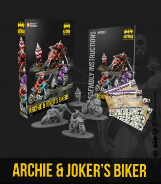 Batman Miniature Game - Archie & Joker's Bikers