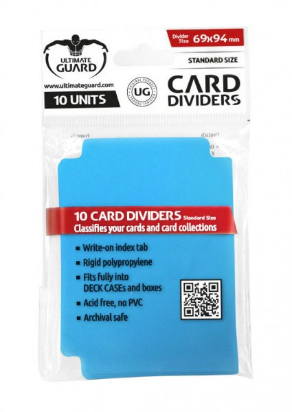 UG Card Dividers Blue 10 ct.