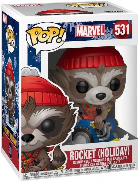 POP - Marvel Holiday - Rocket Raccon (Holiday)