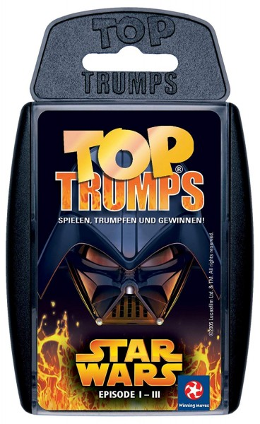 Top Trumps - Star Wars I - III