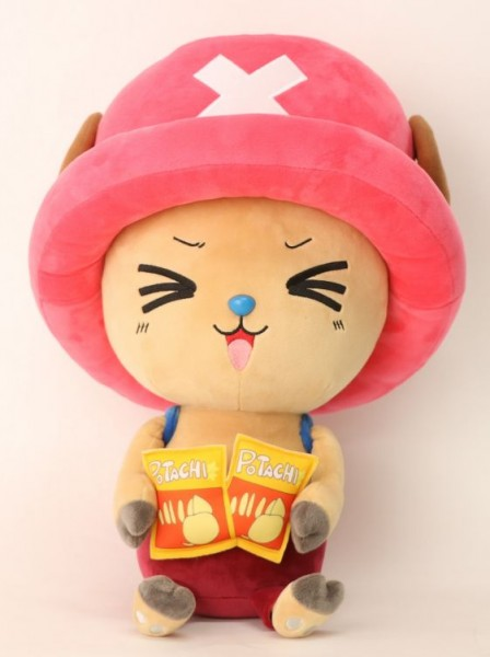 One Piece - New Chopper with Chips 45 cm Plush