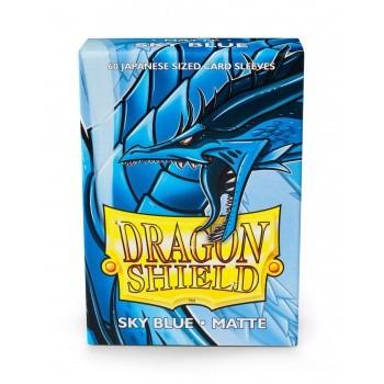Dragon Shield Japanese Sleeves Mat.Sky Blue (60ct)