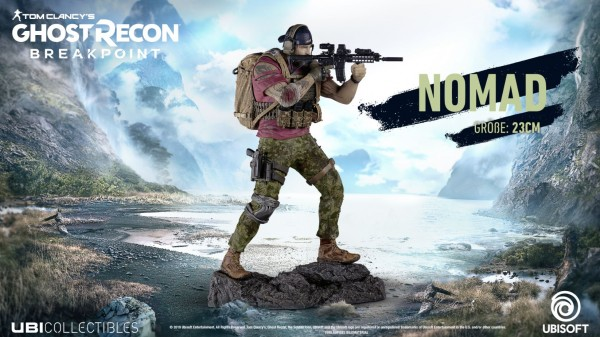 Ghost Recon Breakpoint - Nomad 24 cm Statue