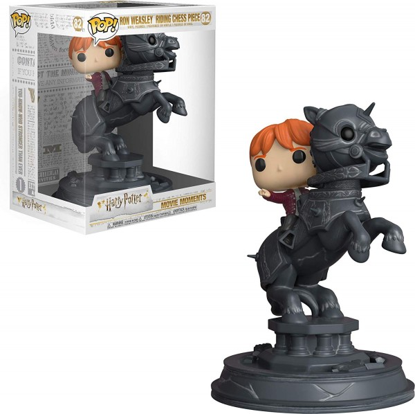 POP Movie Moments - Ron Weasley Riding Chess Piece