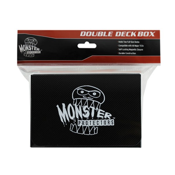 Monster Magnetic Double Deck Box Black