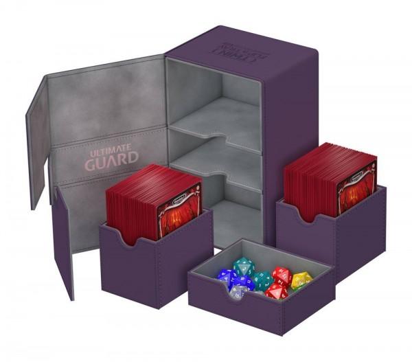 UG Twin Flip`n`Tray Deck Case 160+XenoSkin Violett