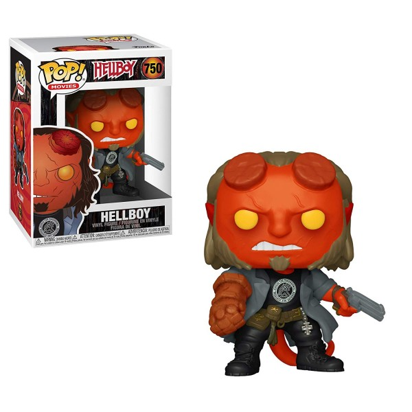 POP - Hellboy - Hellboy (with BPRD Tee)