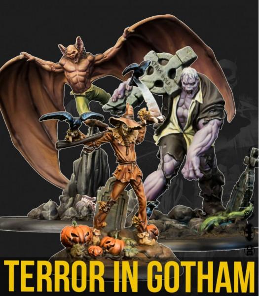 Batman Miniature Game - Terror in Gotham