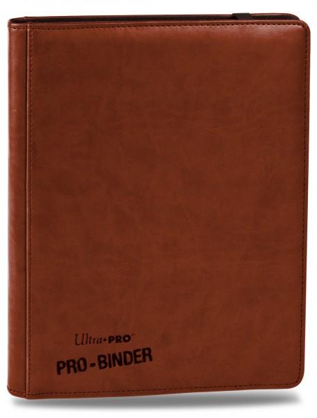 UP Premium Pro Binder für 360 Karten brown/braun
